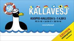 Kallavesj' 2013 sisäänpääsy on ilmainen!