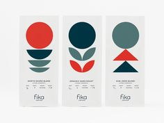 fika designed by Brent Schoepf. Connect with them on Dribbble; the global community for designers and creative professionals. Coffee Shop Logo, Coffee Branding, Coffee Packaging, Coffee Shops, Packaging Design Inspiration, Graphic Design Inspiration, Design Agency, Logo Design, Branding Design