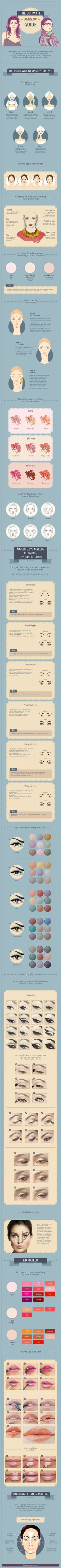 Step-by-step instructions tohelp you attain anabsolutely flawless look.