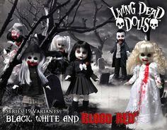 Living Dead Dolls Series 19 Children Of The Night Variant Edition