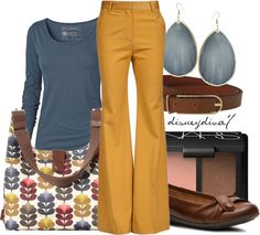 """Yellow Pants"" by disneydiva7 on Polyvore"