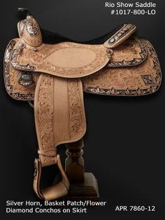 how to clean silver on a show saddle