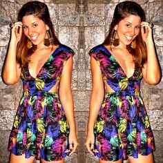 look the finds - vestido - cut