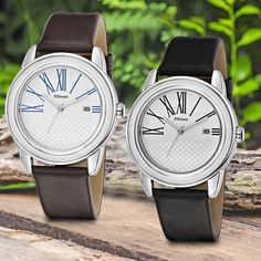 Our F.Steen Aurora Wach comes in two different colours. Which one do you like better?   https://www.fsteendesign.com/collections/men/products/mens-fs3c3  https://www.fsteendesign.com/collections/men/products/mens-fs3c2  #fsteen #fs #watch #watches #wristwatch #desugn #style #fashion #timeless #classic #dailylook #dressy #casual #musthave #best #quality #genuine #leather #nature #streetstyle #trends