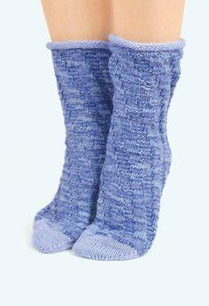 Модные носочки спицами и крючком  2016 - 轻描淡写 - 轻描淡写