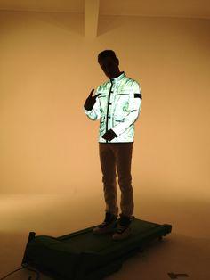 Stone Island Reflective Jacket. Quality!! Pap heeft zo'n jas echt geweldig!!