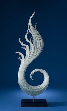 Plume by K. William Lequier | Beautiful Glass Art #sculpture