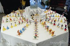 Have the wedding guest match their Disney character to the table that they're sitting! Ummm pretty much brilliant!!!!