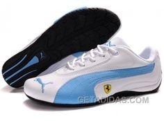 http://www.getadidas.com/womens-puma-ferrari-910-white-blue-top-deals.html WOMENS PUMA FERRARI 910 WHITE BLUE TOP DEALS Only $74.00 , Free Shipping!