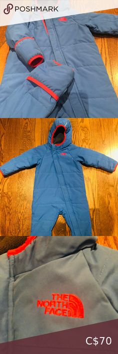 I just added this listing on Poshmark: Infant North Face snow suit. #shopmycloset #poshmark #fashion #shopping #style #forsale #The North Face #Other North Face Kids, North Face Coat, North Face Jacket, The North Face, Boys Rain Jacket, Girls Puffer Jacket, North Face Fleece Hoodie, Boys Winter Jackets, Baby Girl Jackets