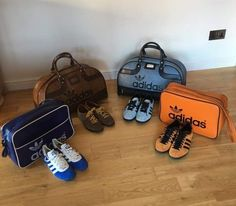 Matching bag and shoes sweetheart  seriously though, some lovely Peter  Black Adidas holdalls and 492c235d4e