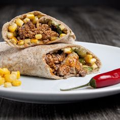 Fars mexicanske wraps