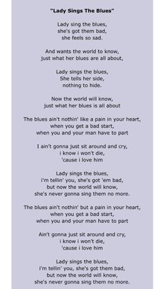 Billie holiday song lyrics two pinterest billie holiday and songs stopboris Images