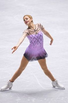 2014, Sochi, Russia - Olympic Figure Skating Costumes Throughout History_Gracie Gold