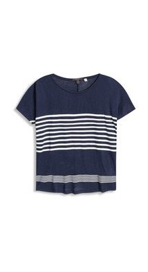 OUTLET multi striped t-shirt