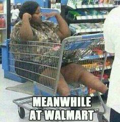 Hmmmm the first time I saw this my first question was how will she get out of this cart