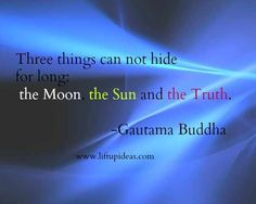 Three things can not hide