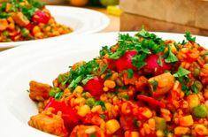 Vegetarian Crockpot Jambalaya