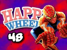 ChimneySwift11- Happy Wheels w/ ChimneySwift11 #48 - The Amazing Spider-Man (HD)