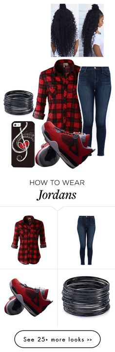"""""""Untitled #1414"""" by lylydenisegaston on Polyvore featuring LE3NO, J Brand, NIKE and ABS by Allen Schwartz"""