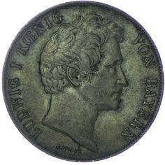 Bayern, Ludwig I. 1825 - 1848 Gulden 1846 Silber