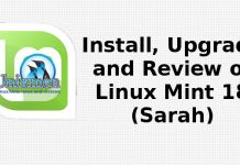 Install, Upgrade and Review of Linux Mint 18 (Sarah)