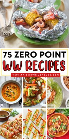 Stretch your Weight Watchers points with these delicious and easy guilt free zero point Weight Watchers recipes. Weight Watchers Lunches, Weight Watchers Meal Plans, Weight Watchers Breakfast, Weight Watchers Free, Weight Watchers Desserts, Weigh Watchers, Ww Recipes, Low Calorie Recipes, Cooking Recipes