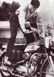 elvis motorcycles | Elvis Presley – The Man And His Love Of Motorcycles | www ...