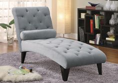 Jennifer Convertibles: Sofas, Sofa Beds, Bedrooms, Dining Rooms & More! Grey Chaise