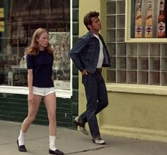 Sissy Spacek and Martin Sheen in Badlands, 1973 Sissy Spacek, Bobby Socks, Martin Sheen, Honeymoon Suite, Film Inspiration, About Time Movie, Pin Up Style, Film Stills, Costume Design