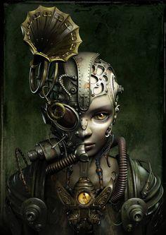 Future mechanical Jeanne d'Arc by Kazuhiko Nakamura