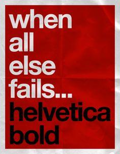 Possiblement la millor tipografia dissenyada fins al moment... Possiblement