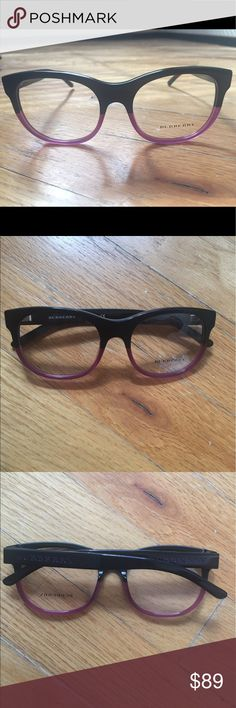 Authentic Burberry optical frame New Burberry 2169 optical frame black gradient plastic Burberry Accessories Glasses