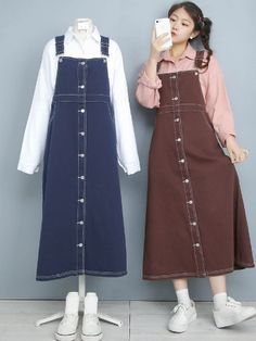 Korean Girl Fashion, Korean Fashion Trends, Korean Street Fashion, Ulzzang Fashion, Korea Fashion, Muslim Fashion, Cute Fashion, Asian Fashion, 90s Fashion