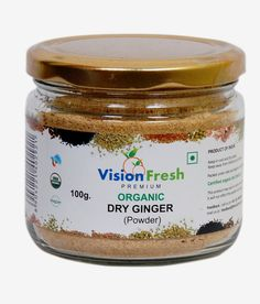 Vision fresh  Organic Dry Ginger ( Powder) from Lal10.com