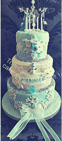 Frozen theme cake. #art #bakingqueen #birthdaycake #celebration #fondant #cakequeen #cake #trinicakediva #trinidad #trini #frozen #disney #disneyprincess #olaf #letitgo #princesselsa