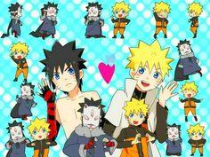 Naruto and Menma Menma Uzumaki, Naruto Uzumaki Art, Narusasu, Sasunaru, Naruhina, Naruto And Sasuke, Anime Naruto, Anime Manga, Naruto Images