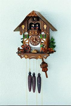 Black Forest 30 Hour Chalet Cuckoo Clock with Framework MT6563-9. h1Black Forest 30 Hour Chalet Cuckoo Clock with Framework MT6563-9_h1The Black Forest 30 Hour Chalet Cuckoo Clock with Framework MT6563-9. This chalet style cuckoo clock comes with frame work and many other details. The w.. . See More Cuckoo Clocks at http://www.ourgreatshop.com/Cuckoo-Clocks-C1122.aspx