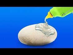vidéo YouTube - quelques bonnes idées déco et jeux pour enfants à faire avec des pierres et des cailloux