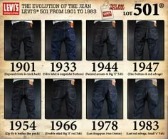 May 20, 1873: the day the blue jean was born. While the logo's evolution spans from 1901 to 1983, we know that was not the beginning nor is it anywhere near the end. Can you imagine life without blue jeans? They are definitely a staple in anyone's wardrobe...from the most humble to the richest of the rich with absolutely NO age limit!