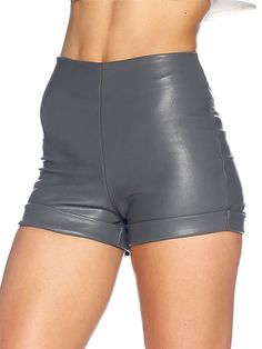 Route 66 Grey Road Shorts - LIMITED (AU $60AUD) by Black Milk Clothing