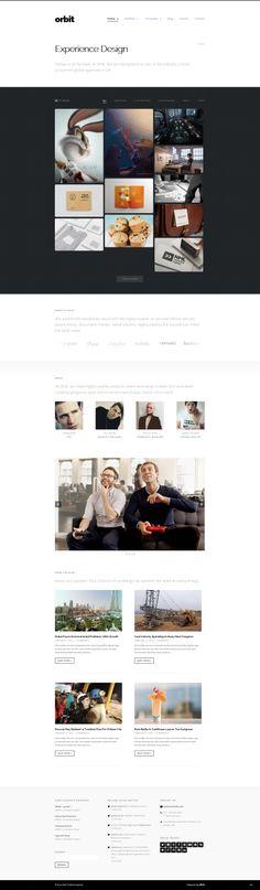Orbit - #Professional #WordPress #Portfolio Theme