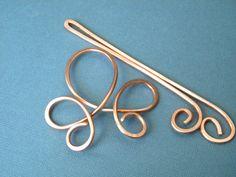 Hair Bow Hair Accessories Hair Stick Hair Fork by ElizabellaDesign