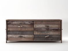 Contemporary style wooden chest of drawers with drawers ROPE ME | Chest of drawers by KARPENTER