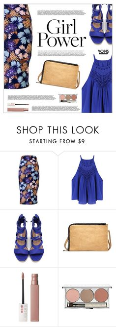 """""""Yoins"""" by shambala-379 ❤ liked on Polyvore featuring Maybelline, Chantecaille, yoins, yoinscollection, loveyoins and MyPowerLook"""