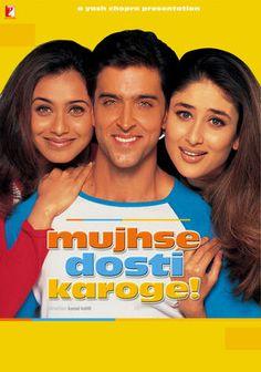 Vogliamo essere amici? (Film di Kunal Kohli - con Hirithik Roshan, Rani Mukherjee, Karina Kapoor - India 2002)