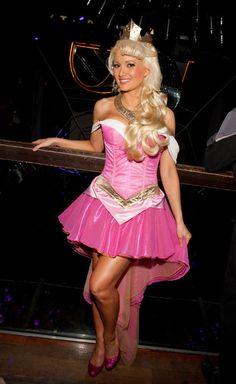 Holly Madison as Sleeping Beauty