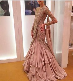Looking to Buy Lehenga Online: Buy Indian lehenga choli online for brides at best price from Andaaz Fashion. Choose from a wide range of latest lehenga choli designs. Indian Wedding Gowns, Indian Gowns Dresses, Indian Attire, Indian Outfits, Indian Wear, Indian Designer Outfits, Designer Dresses, Designer Sarees, Salwar Kameez