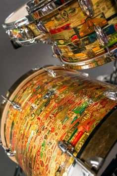 Cool Cigar wrap drum kit
