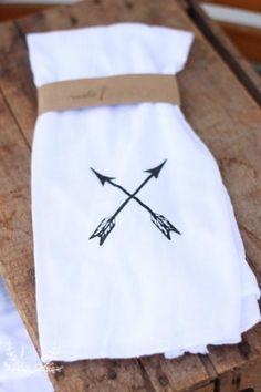 Arrow Flour Sack Towel